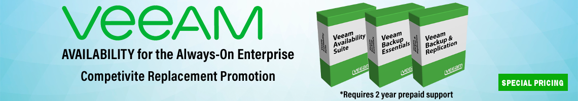 Veeam Competitive Replacement Promotion